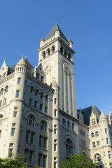 Old Post office pavilion with bell tower in Washington DC