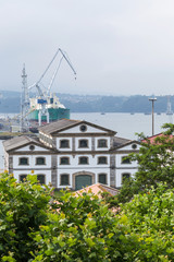 estuary Ferrol, Galicia, Spain