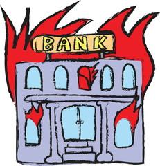 doodle Burning Bank