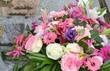 Bouquet funéraire - 73489241