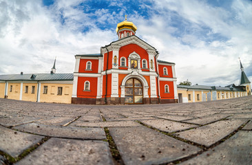 Valday Iversky Monastery, a Russian Orthodox monastery founded b