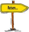 canvas print picture - Reisen...verreisen...