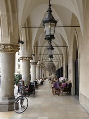 Arch terrace