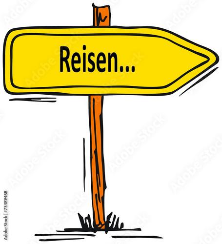 canvas print picture Reisen...verreisen...