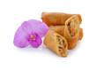 Spring rolls food