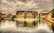 Swedish Parliament building in Stockholm - 73491441