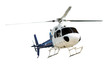 canvas print picture - Helicopter with working propeller
