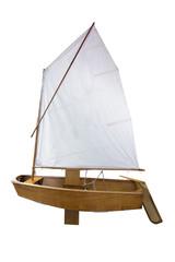 Retro yacht