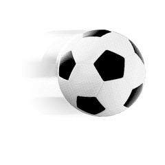 The classic soccer ball