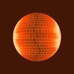 Disco Ball, shades of mars