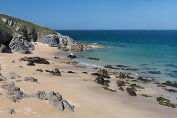 Beach in Belle-Ile-en-Mer, France