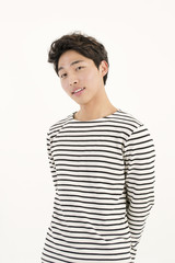 Asian handsome man