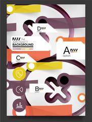 Flyer, Brochure Design Template
