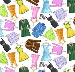 Motif vêtements femme