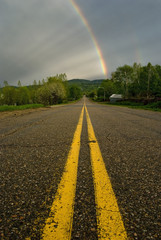 Rainbows at the end of the Road