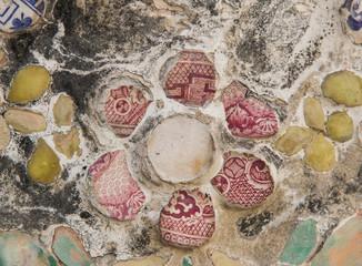 Chinese porcelain on Wat Arun