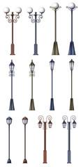 Different lamp designs