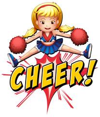 Cheer flash logo