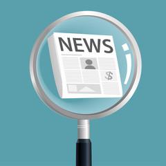 News magnify