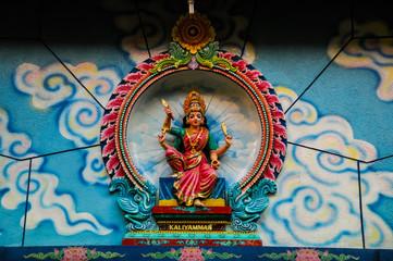 Hindu God in Indian Temple
