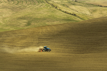 Agriculture fields in Tuscany