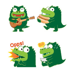 Crocodile Acting 01