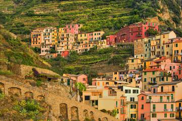 Włochy, Manarola , urocze miasteczko włoskiej riviery