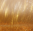 bright golden bokeh lights and texture. defocused abstract backg