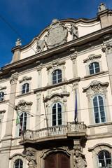 Milan - Facade of baroque Palazzo Litta