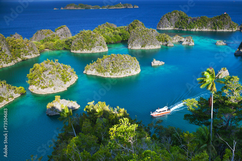 Keuken foto achterwand Indonesië Fam islands Wayang Indonesia