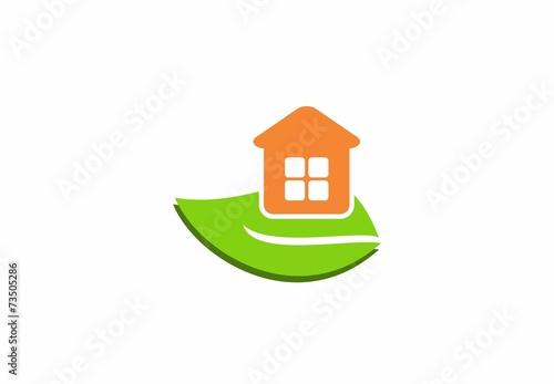 Green Leaf Orange House