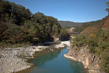 Sho River, Shirakawa-go, Japan