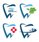 vector collection of healthy teeth