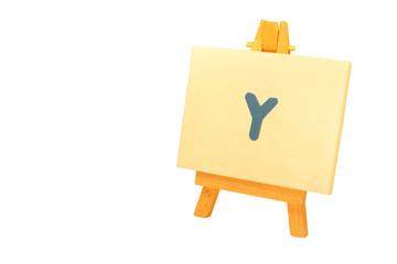 Painted 'Y'