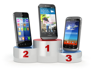 Choosing the best cellphone or comparison mobile phones.  Smartp
