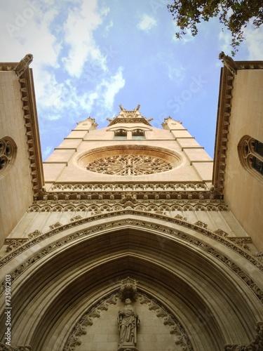 canvas print picture Kirche, Mallorca