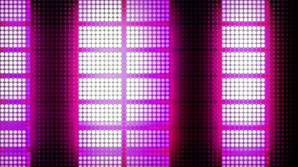 Pink Glowing Wall Lights