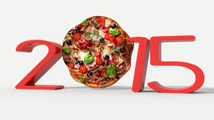 Anno nuovo 2015 con pizza movie