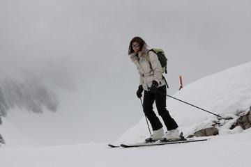 Sciare nella nebbia