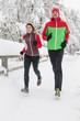 gemeinsam im Park joggen