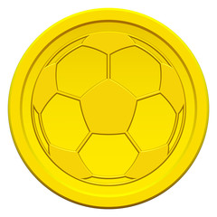 Ball on coin