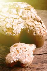 colomba di pasqua - italian easter dessert