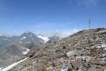 Gipfel des Hinteren Daunkopfs, Stubaier Alpen