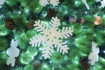 Christmas tree fragment