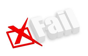 3d Fail Text