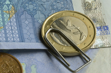 Suomen tasavalta Republiken Finland Euro currency money
