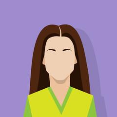 profile icon female avatar woman portrait