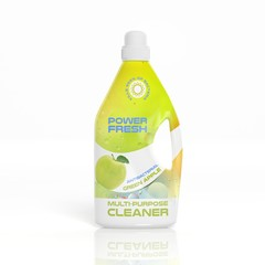 3D Multi-Purpose Cleaner plastic bottle isolated on white