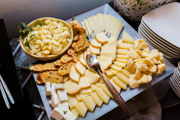 Cheese Assortments.