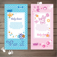 Sweet baby shower invitation